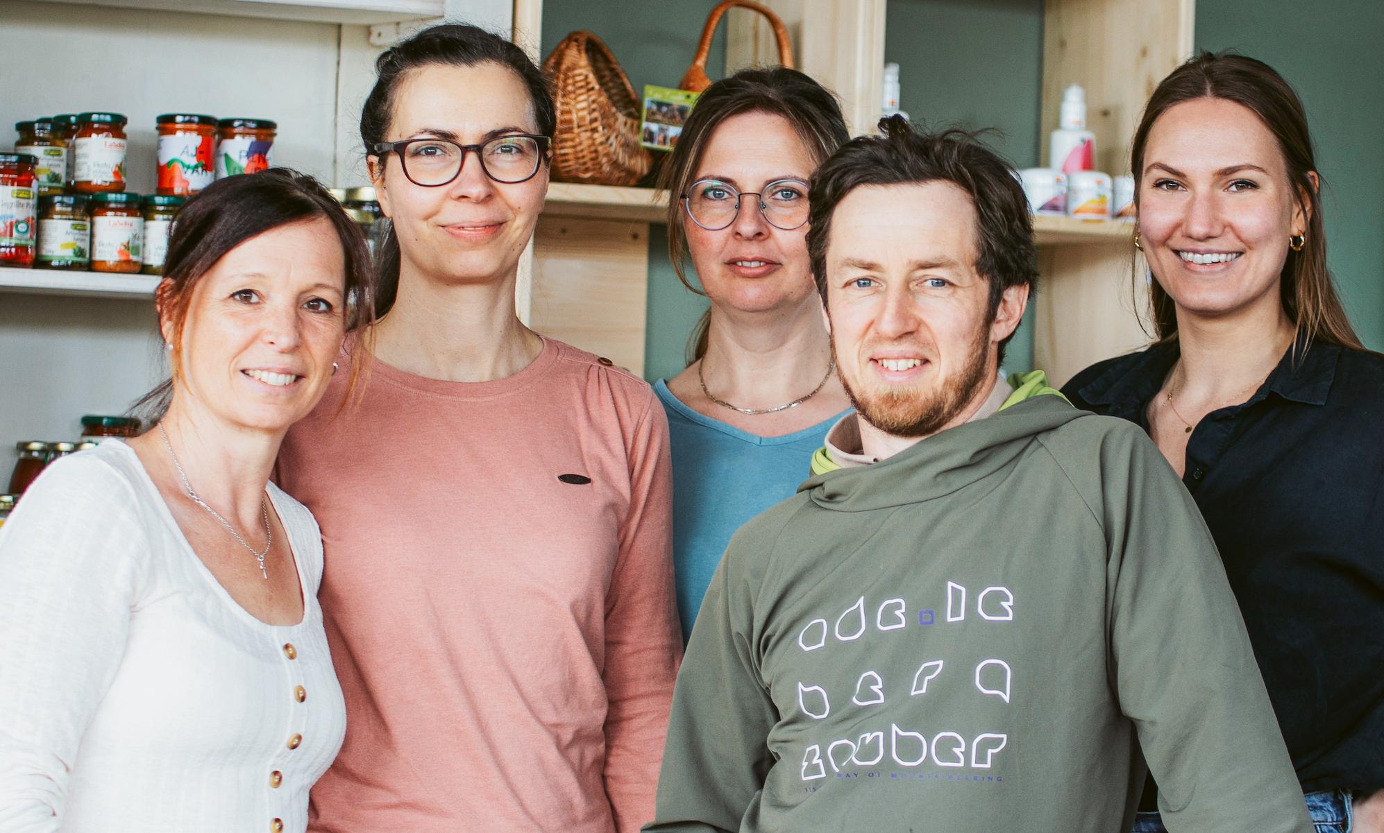 Das Team von der Hofmanufaktur zum Huttenberg